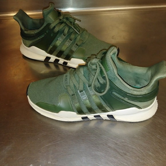 more photos 0ba57 9fe18 Adidas EQT Support ADV Size 7.5 Olive Shoes!